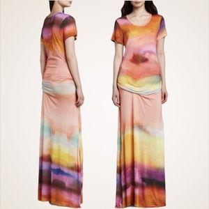 Young Fabulous & Broke Montauk Tie Dye Maxi Dress